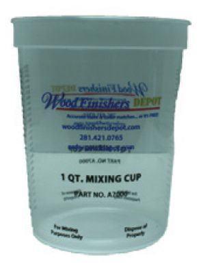 WFD Mix Containers - Quart With Lid