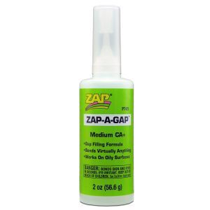 Zap Glue - Zap A Gap - 2 oz. (green)