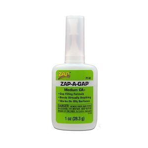 Zap Glue - Zap A Gap  - 1 oz. (green)