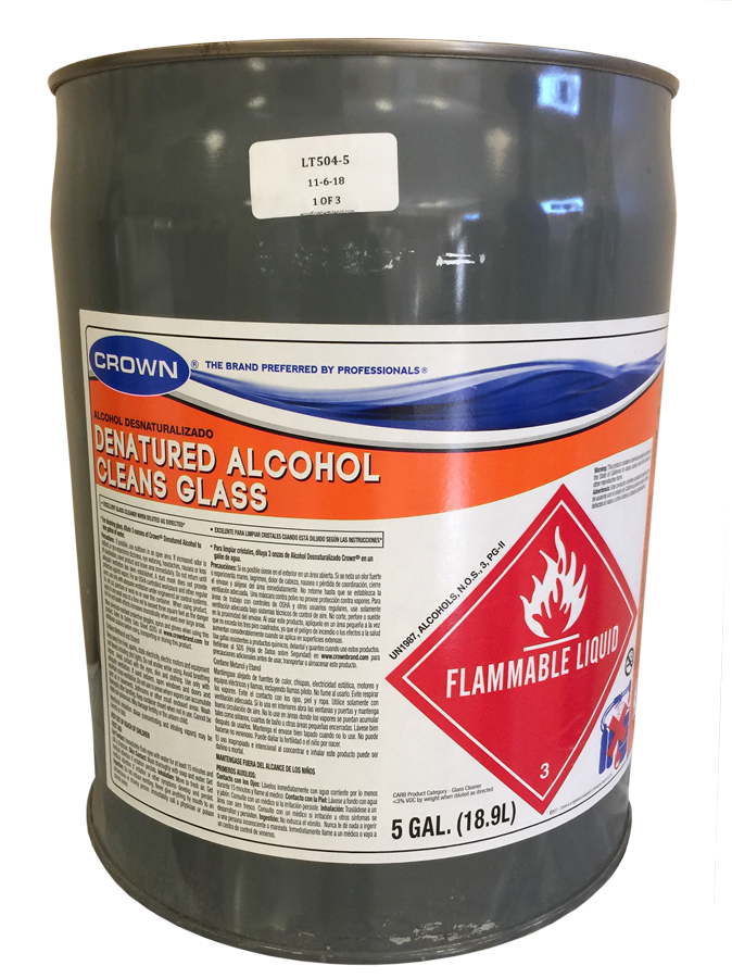 Denatured Alcohol - 5/Gallon