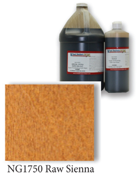 NGR Stain - Raw Sienna - Gallon