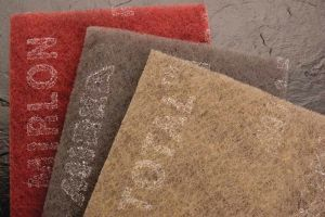 Mirlon Total - Syn. Wool - 4.5 X 9 Pads Red Very Fine