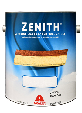 ZENITH Water Base Conversion Varnish - Semi Gloss - 1 Gallon